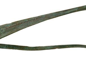 Fibule gauloise, entre 120 et 60 avant notre ère, Bassing (Moselle), 2010.