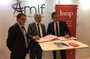 L'AMIF et l'Inrap signent une convention de partenariat (1)