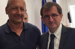 Vescovato, Antoine Poli et Daniel Guérin