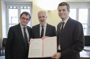 7856. L'Inrap et l'Inp renouvellent leur partenariat de coopération culturelle et scientifique