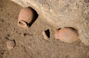 céramique avec leur couvercle en place