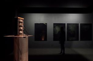 """Exposition """"Matérialité de l'invisible"""" - Marc Domage (3)"""