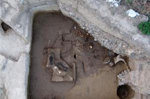 inhumations sous kourgane avec char