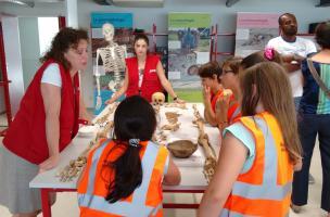 Portes ouvertes du centre de recherches archéologiques Inrap de Bègles