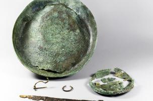 Protohistoire - tombe masculine