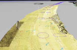 anomalies magnétiques (route du littoral, La Réunion)