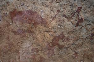 Fresque rupestre