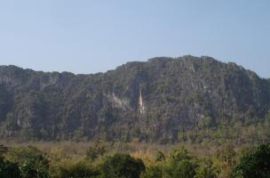 Panorama de la chaîne calcaire du Doi Pha Kan