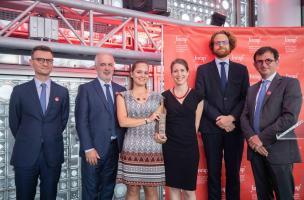 Soirée annuelle de l'Inrap 2018 - Trophée Recherche et développement