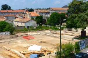 Fouille archéologique sur l'îlot Renaudin à Angoulême