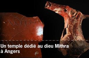 Un temple dédié au dieu Mithra à Angers