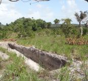 Un diagnostic archéologique dans le centre spatial guyanais