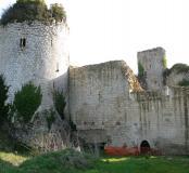 Château du Coudray-Salbart, Tour du moulin