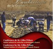 Archéologie de la Grande Guerre, Gilles Prilaux, canada 2016
