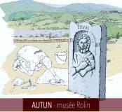 Affiche exposition Nécroscopie - Autun