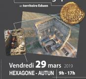 Affiche journée d'actualité archéologique en territoire Eduen