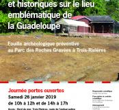 Affiche Roches Gravées - Guadeloupe