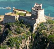 Le fortin de Girolata vu du sud ouest.