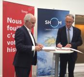 Le Shom et l'Inrap : une collaboration scientifique renforcée
