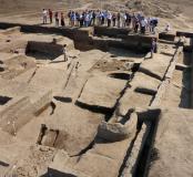 Tell el-Iswid : visite du chantier