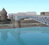 modélisation du pont tournant de Brest