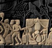 Visuel expo Vivre à l'époque angkorienne