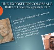 Prolongation expo Baillet