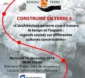 Seminaire Réseau Terre 2018
