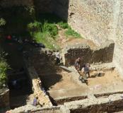 Fouille château de Talmont