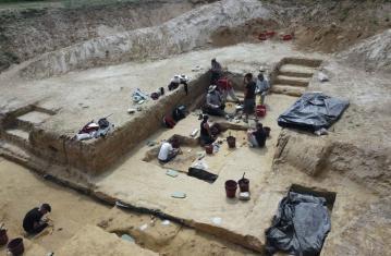 Vénus sortie des fouilles