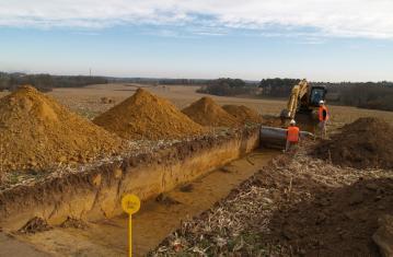 A65, archéologie du tracé de l'autoroute