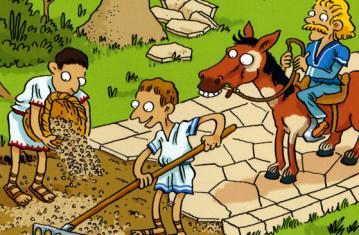 La Gaule romaine à petits pas