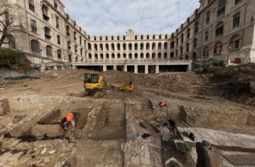 Vues 360° de la fouille de l'Hôtel-Dieu à Marseille