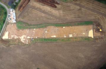 Archéologie du tracé des gazoducs Hauts de France