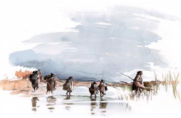 Visuel Quiz Néandertal