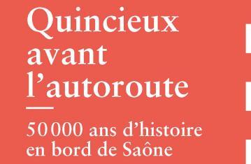 Mémoire de fouilles : Quincieux (couverture)