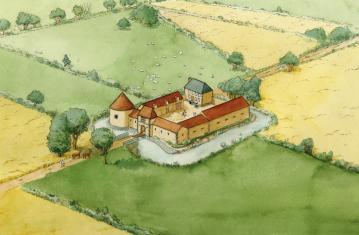 La ferme du Colombier à Varennes-sur-Seine (XVI<sup>e</sup>-XVII<sup>e</sup> siècles)