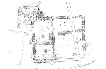 recherches archeologiques 10 - L'établissement de Pratz le Curtillet