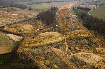 Archéologie de la ligne à grande vitesse Rennes -Le Mans