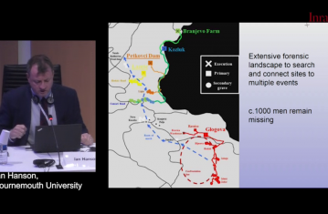L'archéologie dans les enquêtes sur les droits de l'homme, les crimes de guerre et les catastrophes