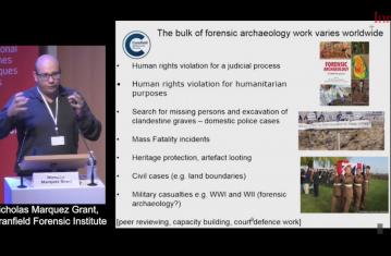 Histoire et état des lieux de l'archéologie forensique : perspectives mondiales
