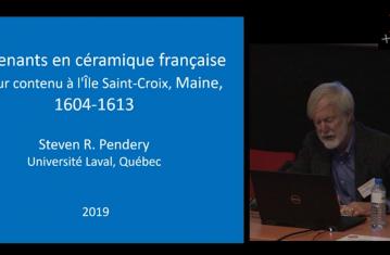 Contenants en céramique français et leur contenu sur l'île de Sainte-Croix, 1604-1613 (Maine, États-Unis)