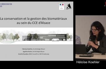 La conservation et la gestion des biomatériaux au sein du CCE d'Alsace