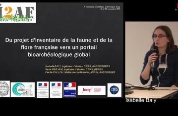 Du projet d'inventaire de la faune et de la flore française vers un portail bioarchéologique ouvert géographiquement
