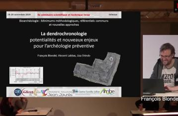 Dendrochronologie : potentialités et nouveaux enjeux pour l'archéologie préventive