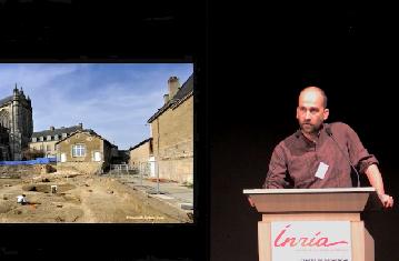 Un espace urbain singulier : Les abords de la Cathédrale du Mans. Enjeux et méthodes
