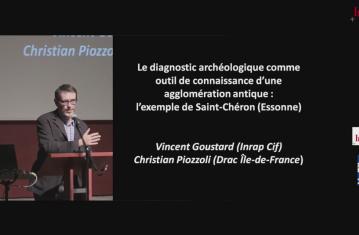 Le diagnostic comme outil de connaissance d'une agglomération antique et de ses abords : l'exemple de Saint-Chéron (Essonne)