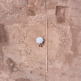 Vue aérienne du monument 1
