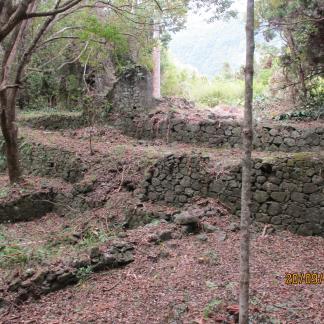 Murs de pierres sèches et terrassements