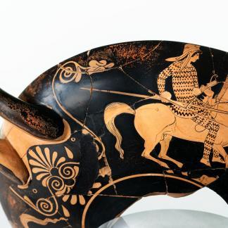 Coupe dite « attique », Ve siècle avant notre ère, Marseille